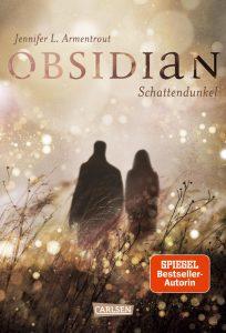 """Cover des Buches """"Obsidian. Schattendunkel"""" von Jennifer L. Amrentrout"""